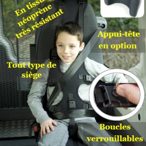 Harnais de maintien gilet de posture pour voiture 1